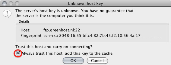 Greenhost - SFTP file management